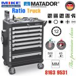 Tủ đồ nghề cao cấp 7 ngăn RATIO Truck - 8163 9531