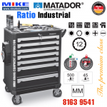 Tủ đồ nghề cao cấp 7 ngăn RATIO Industrial - 8163 9541