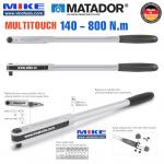Cà lê lực 140-800 Nm - đầu vuông 3/4 inch - MULTITOUCH