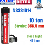 Kích thủy lực một chiều loại tiêu chuẩn Bega NSSS1014, hồi về bằng lò xo - Tải trọng 10 tấn