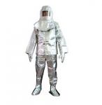 Quần áo chống cháy tráng bạc loại dầy