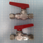 Van bi nối ống Hoke, OD x OD, SS316, 6.000psi (6K)