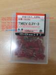 Nichifu- Đầu cos chẻ bọc nhựa TMEV 0.3Y-3