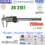 Thước cặp điện tử 200mm, IP54 - Vogel Germany
