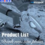 Danh mục sản phẩm Matador