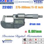 Panme điện tử 275-300 mm, IP54, drum inch
