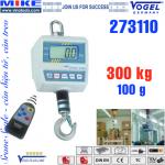 Cân treo điện tử - Cân cẩu - Crane Scale - Tải trọng 300kg.