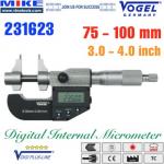 Panme điện tử 175-200 mm, IP54, drum inch