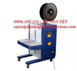 0906389234 - Máy đóng đai thùng đứng EX105, máy đóng đai kiện hàng, máy siết dây đai thùng