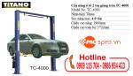 Hướng dẫn quy trình hoạt động cầu nâng 2 trụ sửa xe ô tô