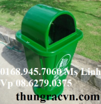 Thùng rác 55 Lít Composite chân nhựa  FTR55N