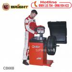 Máy cân mâm hiệu Bright CB66B chuyên sửa xe ô tô - xe máy