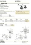 Van gạt tay, hand valve parker HV4200-8|hv4400-10|hv4400-15