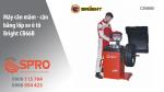 Máy cân mâm - máy cân bằng lốp ô tô giá rẻ nhãn hiệu Bright