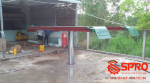 Cầu nâng 1 trụ chuyên rửa xe ô tô - du lịch giá tốt nhất