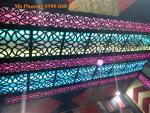 Hoa văn sắt NT trang trí phòng karaoke