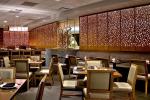 Vách ngăn cnc hiện đại trang trí nhà hàng sang trọng