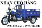 Nhận chở hàng xe ba gác, ba bánh tại Tân Uyên, bình dương  0933. 018. 467
