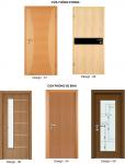 Chuyên sản xuất và thi công lắp đặt các loại cửa gỗ công nghiệp, cửa nhựa Đài Loan, Hàn Quốc