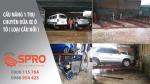 Tư vấn lắp đặt cầu nâng 1 trụ rửa xe ô tô miễn phí toàn quốc