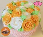 Bánh Kem Sinh Nhật Hoa Hồng Tuyệt Đẹp