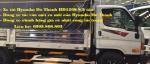 Xe tải Hyundai HD120S 8 tấn
