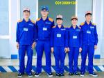 Quần áo bảo hộ lao động nghành cơ khí Hòa Thịnh 06