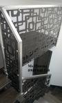 Cầu thang hoạ tiết sắt cắt CNC