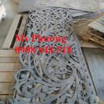 Gia công hoa văn sắt, khung sắt cắt CNC