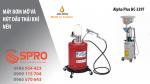 Máy bơm mỡ và máy hút dầu thải khí nén giá rẻ dành cho ô tô