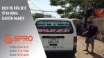 spro - Dịch vụ rửa xe di động bằng máy rửa xe hơi nước nóng