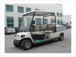 Xe điện chở hàng trong resort