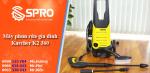 Spro-Máy phun áp lực dùng trong gia đình Karcher K2 360 giá rẻ