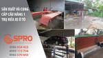 SPRO - Mở tiệm rửa xe có nên dùng các loại cầu nâng hay không ?