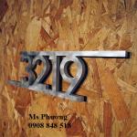 Trang trí nhà bằng hoa văn sắt cắt CNC