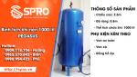 Spro - Bình tích khí 1000 lít giá rẻ mua ở đâu?