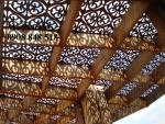 Trang trí sân vườn, quán cf, nhà hàng bằng tấm Panel trang trí cắt CNC nghệ thuật