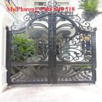 Cửa, cổng hàng rào kim loại cắt CNC nghệ thuật