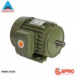 Mô tơ động cơ điện Hồng Ký HKM1/214D loại 1 pha công suất 0.5HP