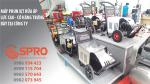 Máy phun xịt rửa vệ sinh nhà máy xí nghiệp giá rẻ nhất tại SPRO