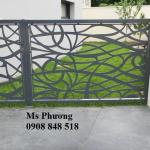 Hàng rào cắt CNC nghệ thuật, sơn tĩnh điện