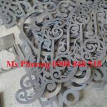 Gia công, hoàn thiện sắt mỹ thuật, sắt uốn, sắt CNC